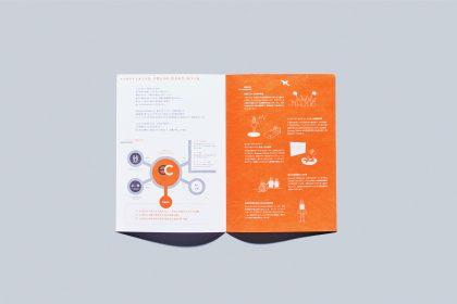 avexパンフレット「a&h empowerment」「一般社団法人 Empower Children」