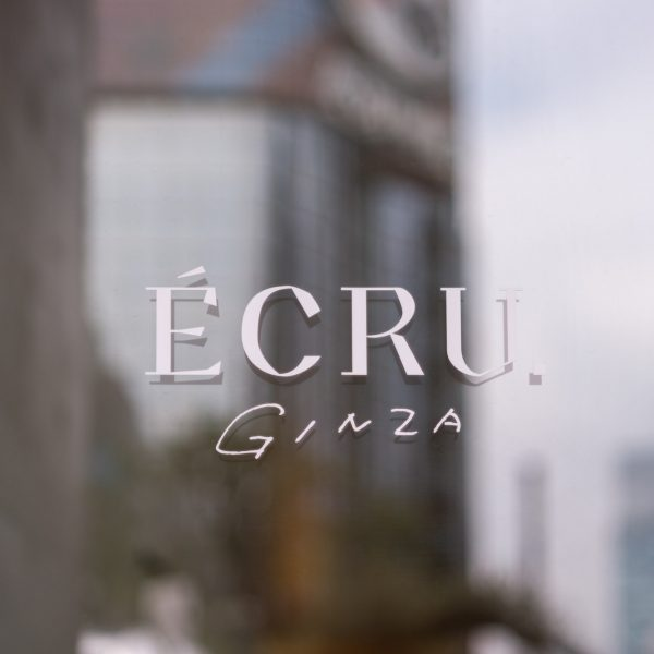 GINZA SONY PARK GL ポップアップ「ÉCRU. GINZA」