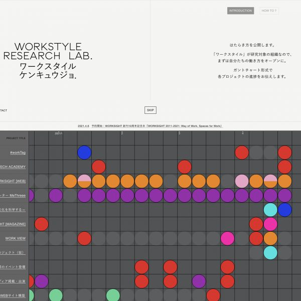 KOKUYO WEBサイト「ワークスタイル研究所」
